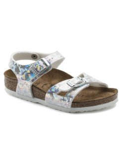 Сандалии Rio Kids MF Hologram Silver Regular BIRKENSTOCK