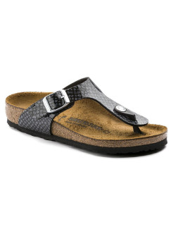 Пантолеты Gizeh Kids BF Magic Snake BlackSilver Regular BIRKENSTOCK