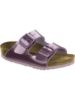 Биркенштоки Arizona Kids BF Electric Metallic Lilac Regular BIRKENSTOCK