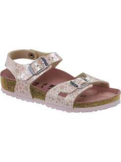 Сандалии Rio Kids MF Metallic Stones Rose Regular BIRKENSTOCK