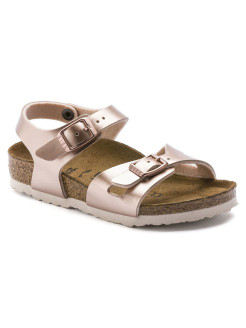 Сандалии Rio Kids BF Electric Metallic Copper Regular BIRKENSTOCK