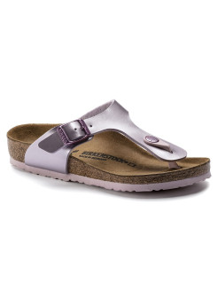 Пантолеты Gizeh Kids BF Electric Metallic Lilac Narrow BIRKENSTOCK
