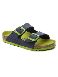 Биркенштоки Arizona Kids BF Desert Soil Blue Regular BIRKENSTOCK