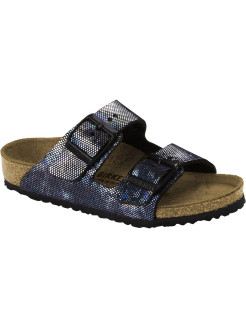 Биркенштоки Arizona Kids MF Hologram Black Narrow BIRKENSTOCK