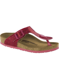 Пантолеты Gizeh Kids MF Hologram Pink Narrow BIRKENSTOCK