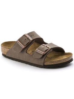 Биркенштоки Arizona Kids BF Nubuck Mocha Narrow BIRKENSTOCK