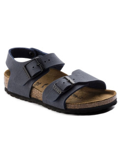 Сандалии New York Kids BF Nubuck Navy Narrow BIRKENSTOCK