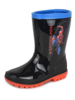 Rubber boots Spider-Man