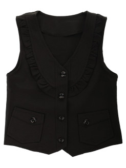 School cotton vest 1Azaliya