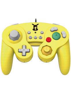 Nintendo Switch Геймпад Hori Battle Pad (Pikachu) для консоли Switch (NSW-109U) Hori