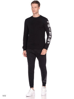 Джемпер RC Sleeve Icons Cre BLACK Reebok
