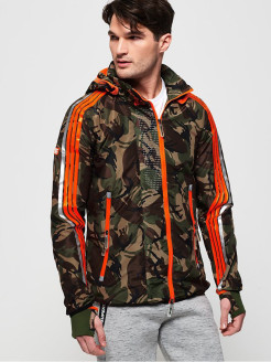 SPRINT ATTACKER CAMO Superdry