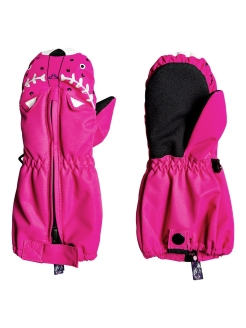 Mittens, without elements, insulated, smooth ROXY