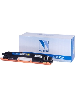 Картридж NVP совместимый NV-CF352A Yellow  для Color LaserJet Pro M176n/ M177fw(1000)(HP 130A) NV Print