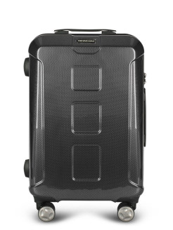 Suitcase for hand luggage with a combination lock on 4 wheels Newcom