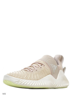 Кроссовки AlphaBOUNCE Trainer LINEN/CWHITE/GLOGRN adidas