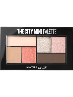 Палетка теней для глаз The City Mini, оттенок 430, Downtown Sunrise , 6 гр Maybelline New York