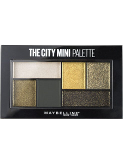Палетка теней для глаз The City Mini, 6 гр Maybelline New York