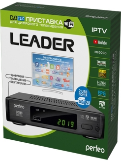 TV receiver, LEADER Perfeo