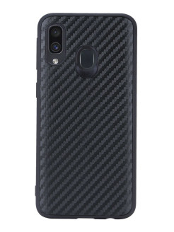 G-Case Carbon Cover for Samsung Galaxy A40 SM-A405F, black G-Case