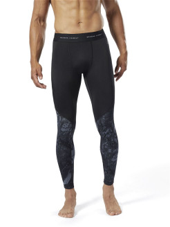 Тайтсы CBT JACQUARD TIGHT Reebok
