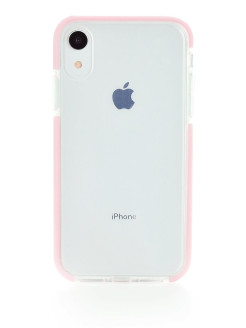 "Чехол Crystal Ice pink для Apple iPhone XR 6.1"" Gurdini"