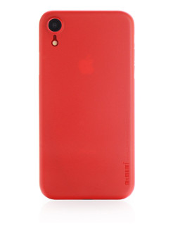 "Чехол Memumi Ultra Slim 0.3mm red для Apple iPhone XR 6.1"" Gurdini"