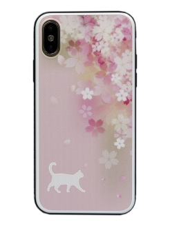 Чехол iPhone X/Xs Glass Series CallMe