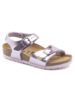 Сандалии Rio Kids BF Electric Metallic Lilac Narrow BIRKENSTOCK