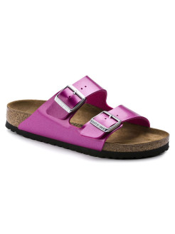Биркенштоки Arizona BF Electric Metallic Magenta Narrow BIRKENSTOCK