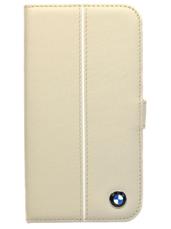 Чехол BMW для Samsung Galaxy S4 Signature Booktype Cream BMW