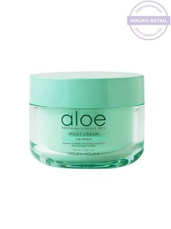 Увлажняющий крем для лица Aloe Soothing Essence 80% Moisturizing Cream 100ml Holika Holika