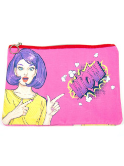 "Cosmetics bag ""Wow pink"" XTime"