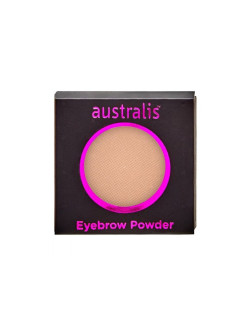 Тени для бровей. РЕФИЛ. Eyebrow Powder - Light Brown Australis Cosmetics