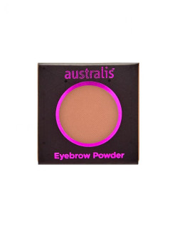 Тени для бровей. РЕФИЛ. Eyebrow Powder - Medium Deep Brown Australis Cosmetics