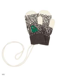 Mittens, without elements, knitted United Colors of Benetton