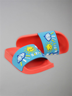 "Children's slippers ""HAPPY"" ximivogue"