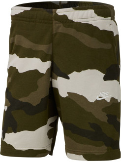 Шорты M NSW CLUB SHORT FT CAMO Nike