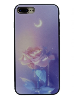 Чехол iPhone 7+/8+ Glass case CallMe