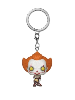Брелок Pocket POP! Keychain: IT Chapter 2: Pennywise w/ Beaver Hat Funko