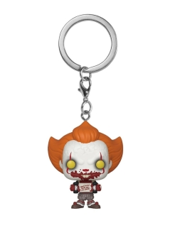 Брелок Pocket POP! Keychain: IT Chapter 2: Pennywise w/ Skateboard (Exc) Funko