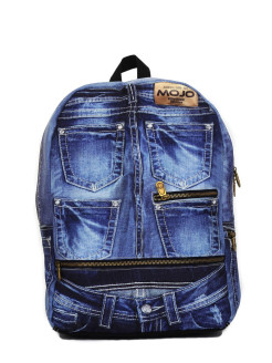 "Рюкзак ""Denim Jeans BP"" Mojo Backpacks"