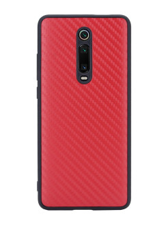 G-Case Carbon Cover for Xiaomi Mi 9T / Redmi K20 / Redmi K20 Pro, red G-Case