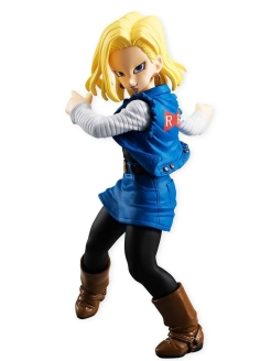 Фигурка Dragon Ball Styling Android 18 9 см Bandai