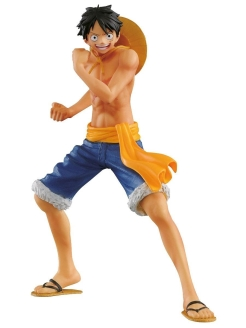 Фигурка Op The Naked Body Calendar - Monkey D - Luffy A 16 см Bandai