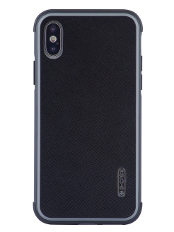 Чехол IPhone XS Max Monte Carlo Series Genuine Leather G-Case-Phone