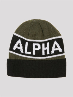 ШАПКА BLOCK BEANIE Alpha Industries