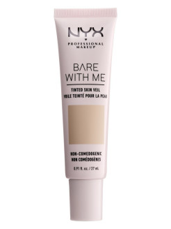 "Тональная основа-вуаль для лица ""Bare With Me Tinted Skin Veil"", Оттенок 04, True Beige Buff, 27 мл NYX PROFESSIONAL MAKEUP"