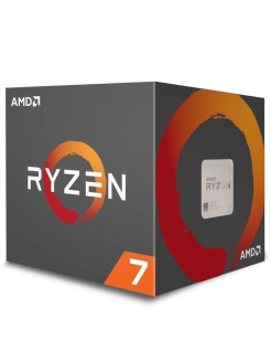 Процессор Ryzen 7 2700X, 3.7ГГц, 8-ядерный, L3 16Мб, AM4, BOX AMD.