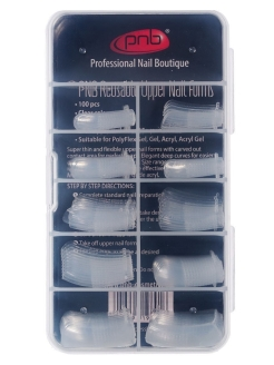 Nail modeling template, 100 pieces. PNB